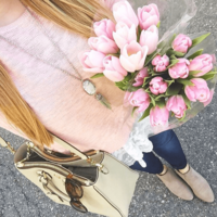 User Generated Content for Kendra Scott Rayne Silver Necklace in White Howlite