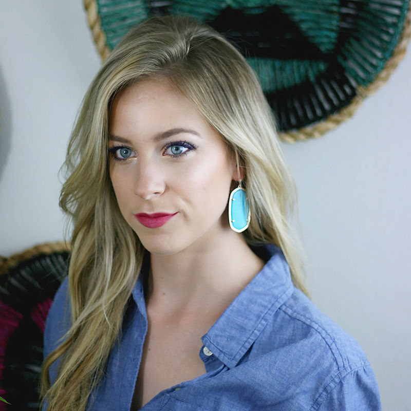User Generated Content for Kendra Scott Danielle Earrings in Turquoise