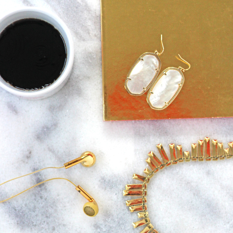 User Generated Content for Kendra Scott Danielle Earrings in Ivory Pearl