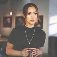 User Generated Content for Kendra Scott Oliver Necklace in Silver Platinum Drusy