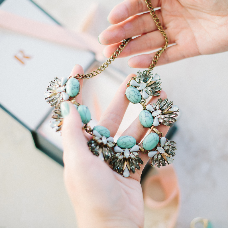 User Generated Content for Perry Street Leandra Statement Necklace