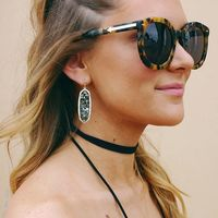 User Generated Content for Kendra Scott Lauren Earrings in Crushed Abalone