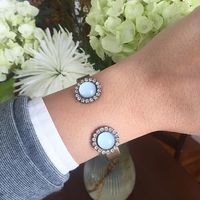 User Generated Content for Loren Hope Cabachon Reverse Cuff in Powder Blue
