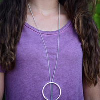 User Generated Content for Jenny Bird Halo Pendant in Silver