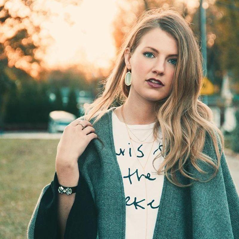 User Generated Content for Kendra Scott Elle Earrings in Chalcedony