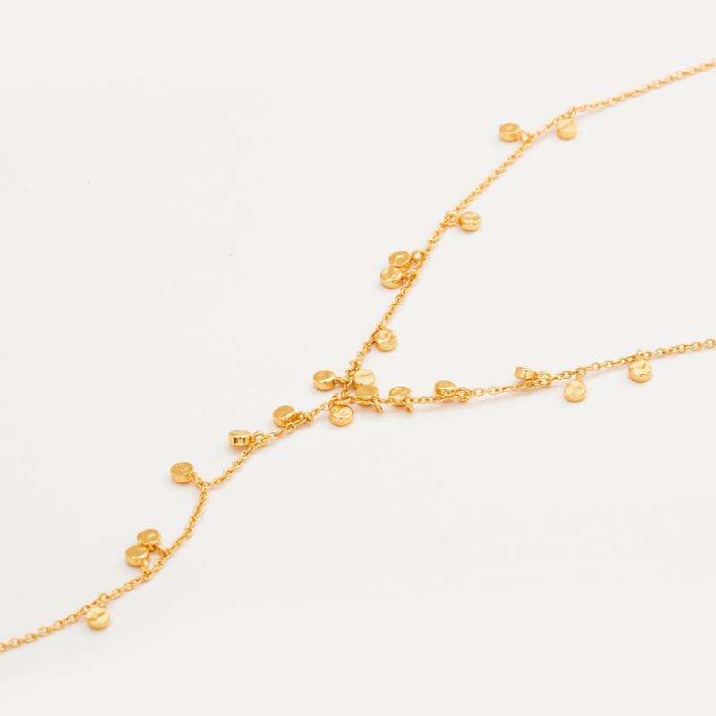 User Generated Content for Gorjana Chloe Mini Lariat in Gold