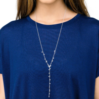 User Generated Content for Gorjana Chloe Mini Lariat in Silver