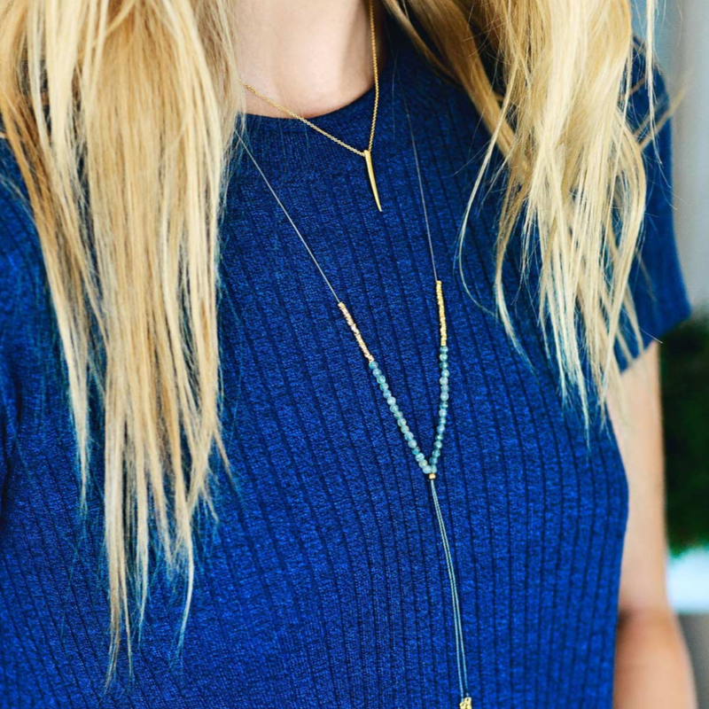 User Generated Content for Gorjana Horn Charm Necklace
