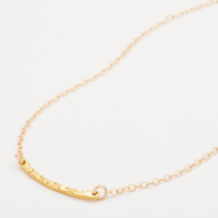User Generated Content for Gorjana Taner Bar Mini Necklace in Gold