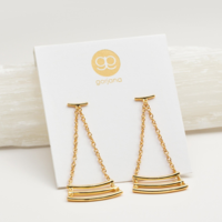 User Generated Content for Gorjana Carine Earrings in Gold