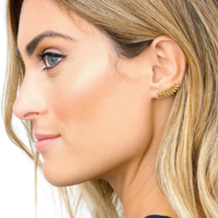 User Generated Content for Gorjana Olympia Ear Climbers