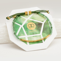 User Generated Content for Gorjana Power Gemstone Bracelet in  Gold and Aventurine