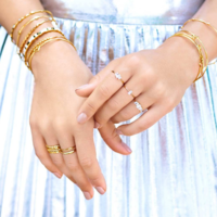 User Generated Content for Gorjana Amara Ring Set