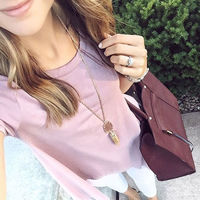 User Generated Content for Kendra Scott Rayne Necklace in Peach Illusion