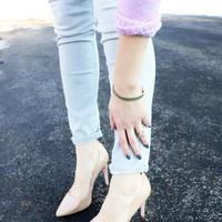 User Generated Content for Loren Hope Clara Mini Bracelet in Emerald