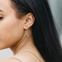 User Generated Content for SLATE Deborah Stone Drop Earrings