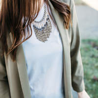 User Generated Content for SLATE Bead to Fringe Boho Necklace