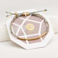 User Generated Content for Gorjana Power Gemstone Bracelet in Labradorite and Gold