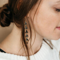 User Generated Content for Perry Street Calla Duster Earrings in Smokey