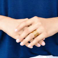 User Generated Content for Gorjana Lola Ring in Gold