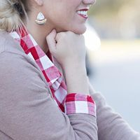 User Generated Content for SLATE Howlite Drop Earrings
