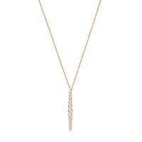 Model Content for Gorjana Mae Shimmer Necklace
