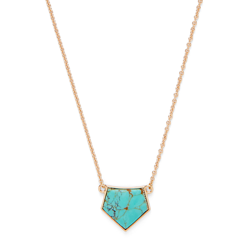 Model Content for SLATE Shiloh Stone Necklace