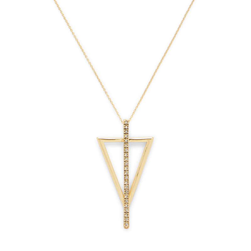 Model Content for House of Harlow 1960 Eden Necklace in Gold