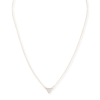 Model Content for Sophie Harper Pavé Triangle Necklace