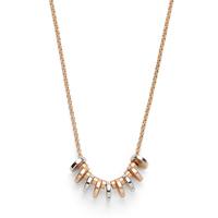 Model Content for SLATE Dakota Disc Necklace