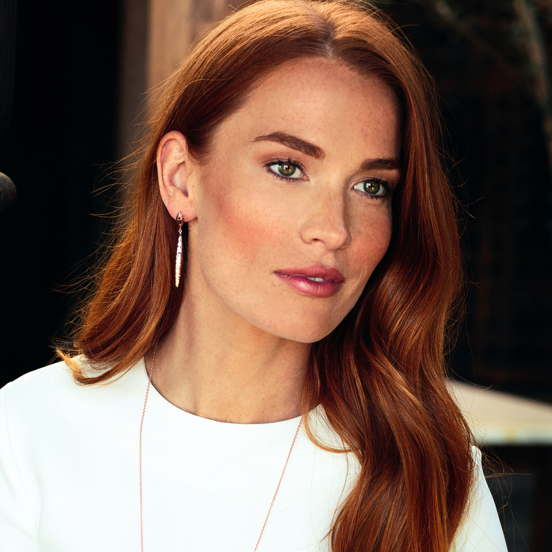 User Generated Content for Gorjana Nora Mid Drop Earrings in Rose Gold