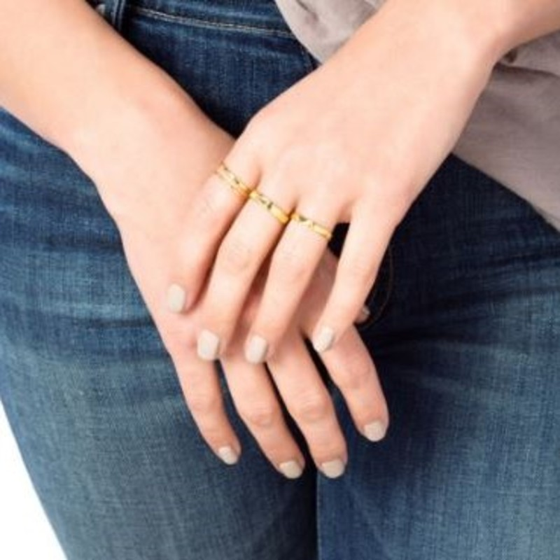 User Generated Content for Gorjana G Stacking Ring Set