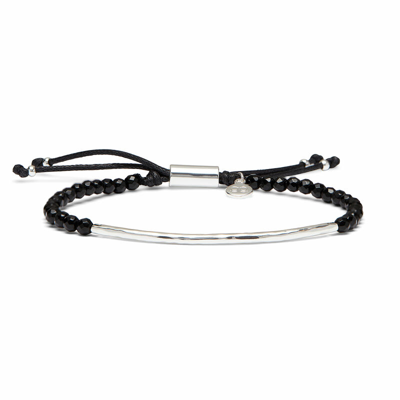 User Generated Content for Gorjana Power Gemstone Bracelet in Black Onyx and Silver