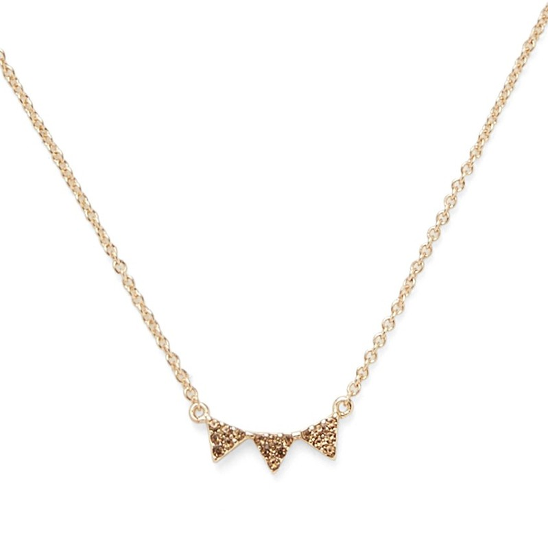 Sophie Harper Jordana Necklace in Gold and Topaz