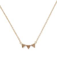 Model Content for Sophie Harper Jordana Necklace in Gold and Topaz