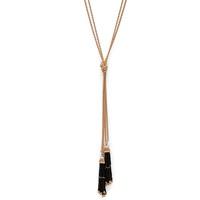 Model Content for SLATE Natalie Tassel Necklace