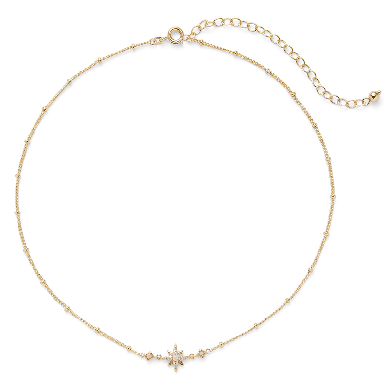 User Generated Content for Rudiment Little Star Necklace in Gold