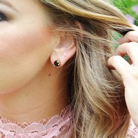 User Generated Content for Kate Spade Rise and Shine Small Studs in Jet