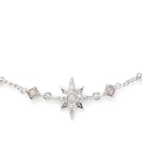 Model Content for Rudiment Little Star Necklace in Silver