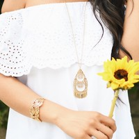 User Generated Content for Kate Spade Golden Age Pendant Necklace
