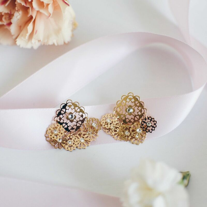 User Generated Content for Kate Spade Golden Age Studs