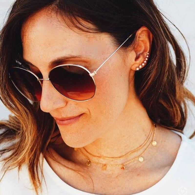 User Generated Content for Sophie Harper Layered Gold Disc Choker