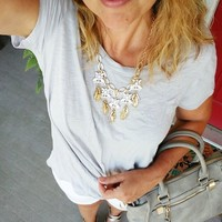 User Generated Content for Perry Street Astrid Necklace in Gold and Crystal