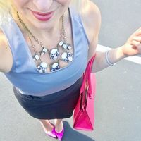 User Generated Content for Perry Street Perla Statement Necklace