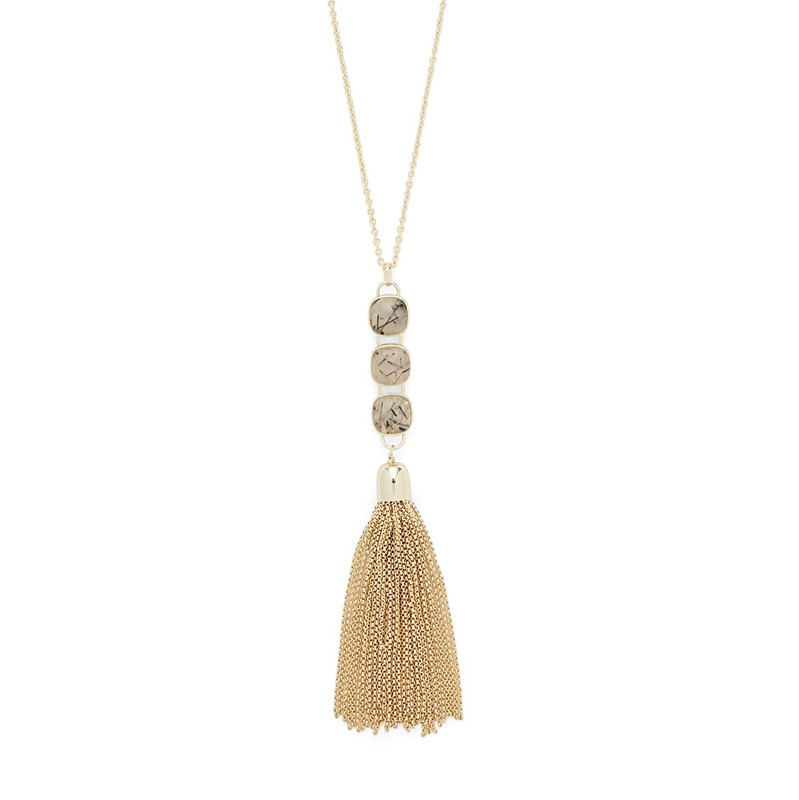 User Generated Content for Ava Rose Hudson Necklace in Gold and Rutilated Quartz