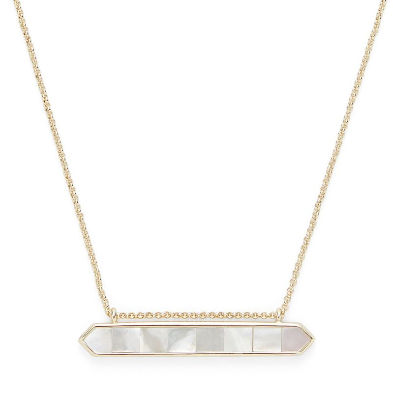 User Generated Content for Ava Rose Tyler Pendant in Gold and Mother of Pearl