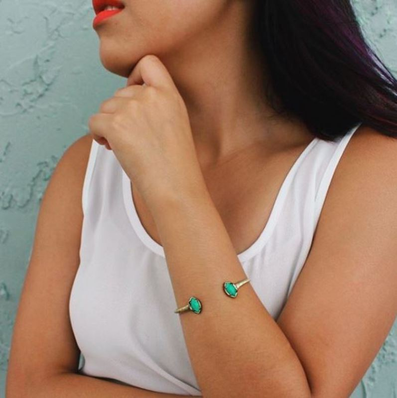 User Generated Content for Kendra Scott Laura Pinch Bracelet in Turquoise Magnesite