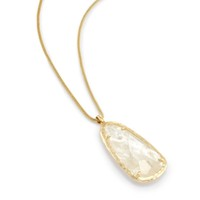 User Generated Content for Kendra Scott Saylor Necklace in Crystal Ivory