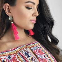 User Generated Content for Perry Street Astera Fringe Earrings