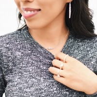 User Generated Content for Rudiment Little Star Necklace in Silver
